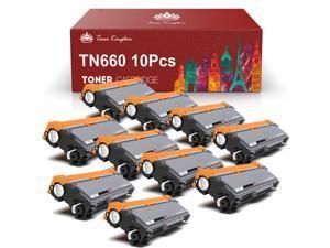 10PK TN-660 1PK TN660 Black Toner Cartridge For Brother HL-L2300D L2305W L2320D