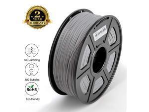 Filament 1.75 PLA  3D Filament PLA Plus for 3D Printer & 3D Pens, PLA Filament Weight 2.2 LBS (1 KG), Printing Accuracy +/- 0.02