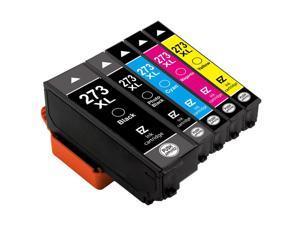 5P For 273 273XL Black Color Ink Cartridges