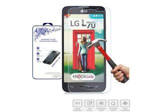 For LG Optimus L70 D325 MS323 HD 2.5D Premium Tempered Glass Screen Protector