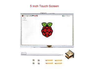 Raspberry Pi 3 Model B 5 inch LCD Touchscreen TFT HDMI 800x480 RPI Display Module Touch Screen Compatible Raspberry Pi 3 +Stylus