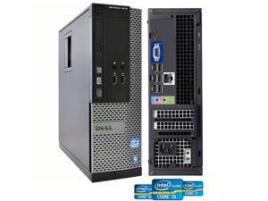 Refurbished: Dell OptiPlex SFF Desktop Intel Core i7-3770 3.4 GHz 8GB RAM 512 GB SSD DVD-RW DVD-RW WiFi HDMI Windows 10 ...