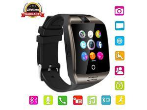 Q18 Bluetooth Smart Watch with Camera Support SIM Card & TF Card ...