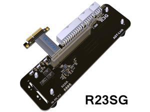32Gb.s PCI-E 3.0 4x External Graphics Card Stand bracket PCIe 3.0 x4 Riser Cable-25cm without power