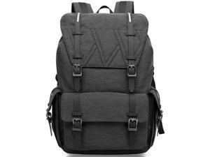 Water Resistant Laptop Bag Anti-Theft Travel Bag Large Capacity Shoulder Daypack  School Backpack Black 970cffa030