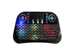 671d8e2b1d8 DOBACNER Gaming Keyboard Wireless Keyboard i10 Wireless Touch Keyboard 2.4G  Remote ...