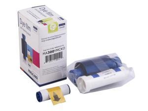 Magicard Dye Film, YMCKO Color Ribbon, 300 prints (MA300YMCKO)