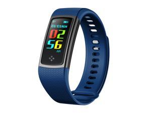 Fitness Tracker Bracelet, Smart sports watch band men and women 0.96 inch touch colour screen