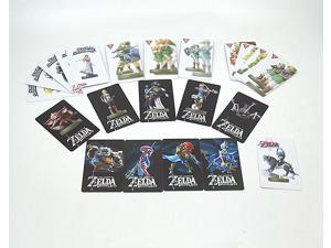 New 23PCS Full Set The Legend of Zelda Breath of the Wild Amiibo NFC TAG Cards 4 Champions & Young Link with Free Tin Box
