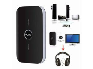 2 in1 Wireless Bluetooth 4.0 Transmitter & Receiver Audio 3.5mm Jack 2RCA for TV