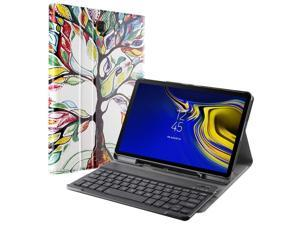 For Samsung Galaxy Tab S4 10.5 w/ Wireless Bluetooth Keyboard Stand Case 5 Color
