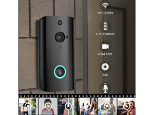 M9 720P Smart WIFI Security Doorbell Wireless Video Phone Camera Night Vision