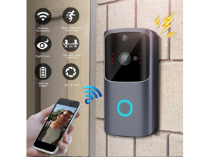 M10 Wireless Smart WIFI Door Bell IR Video Visual Camera Intercom Home Security