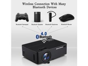 4K HD 1080P Home Theater LED Android 6.0 Wifi Wireless Projector Bluetooth HDMI