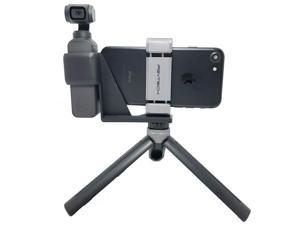 PGYTECH OSMO Pocket Phone Holder Expansion Accessories with Tripod Mini Compatible with DJI OSMO Pocket Accessories