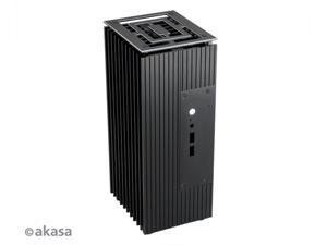 Akasa Turing Compact fanless case for Intel® 8th Generation NUC board (Bean Canyon) Model No. A-NUC45-M1B