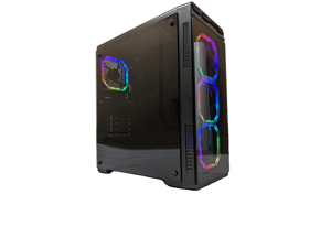 Cobratype ASP Gaming PC - Core i7, GeForce GTX 1660, 16GB RAM, SSD, Windows 10, Wi-Fi
