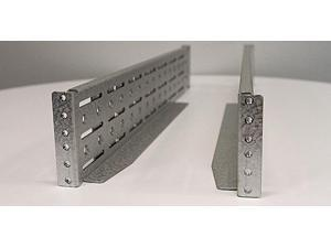 Heavy-Duty 4-Post Rack Rail Kit