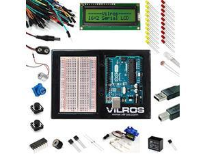 Arduino Uno Ultimate Starter Kit + LCD Module -- Includes 72 page Instruction Book