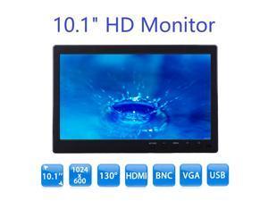 89eddb10add 10.1 inch Monitor HD 1024 600 with Video Audio VGA AV BNC USB HDMI 10