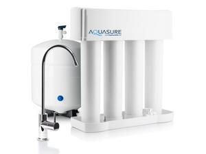 Aquasure Premier Advanced Reverse Osmosis Drinking Water Filtration System with Quick Twist Replacement Filter - 75 GPD (Brush Nickel)