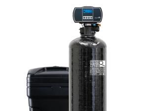Aquasure Harmony Series Whole House Water Softener with High Efficiency Aquatrol Digital Metered Control Head - 64,000 Grains