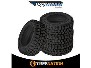 1 New 37X12.50R17 D 8 ply Ironman All Country MT Mud Terrain 37X1250 17 Tire