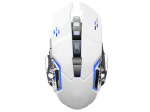 235735d66c5 Zgeer Rechargeable Wireless Gaming Mouse, 2.4G USB LED Optical Silent  Computer Wireless Mice,