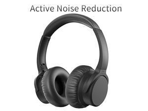 7f30e87997e DiPRO BH-P45 ANC Wireless Over-Ear Noise-Cancelling Bluetooth Headphones ...