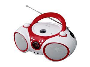 Jensen CD-490WR Sport Stereo CD Player Limited Edition Color Portable Sport Stereo Red