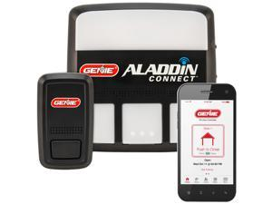 Aladdin Connect WiFi Garage Door Controller by Genie - Retrofit Add-on Unit for Existing Garage Door Opener / Compatible with Amazon Alexa & Google Assistant