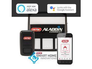 Aladdin Connect WiFi Garage Door Controller by Genie - Retrofit Add-on Unit for Existing Garage Door Opener / Compatible with Amazon Alexa & Google Assistant