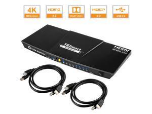 Deals on TESmart 4x1 HDMI KVM Switch