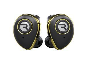 Raycon E50 True Wireless Bluetooth Earbuds - Bluetooth 5.0 Headphones Stereo Sound in-Ear Bluetooth Headset Wireless Earbuds 25 Hours Playtime and Built-in Microphone - Gold