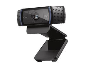 Logitech C920 Durable Web Camera Skillful Manufacture Auto-Focus Widescreen HD 1080P USB Webcam w/Mic for Laptop Desktop