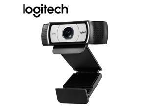 Logitech C930e HD Smart 1080P Webcam with Cover for Computer USB Video Camera 90 Degree 4 Time Digital Zoom Web Cam