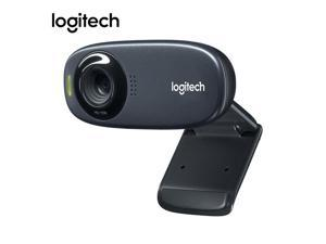 Logitech C310 Webcam 720p 30fps HD USB 2.0 Wired Web Camera Live Conference Video Call Cameras for Laptop Desktop PC Computer