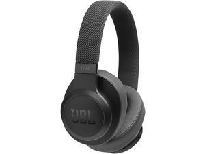 JBL LIVE 500BT With Google, Alexa voice Bluetooth Over-Ear Headphones - Black