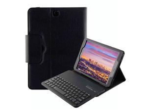 Keyboard Case for Samsung Galaxy Tab S2 9.7 SM-T810 / T815 / T813 Detachable Magnetic Removable Wireless Bluetooth Smart Keyboard Cover Protective Stand Book Folio Slim Fit PU Leather