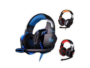 PS4 Gaming Headphones With Microphone Dazzle Lights Glow Game Music Headset