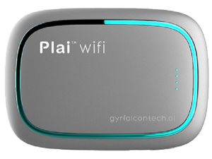 Plai Wifi - Gyrfalcon Technology SPR2801 Artificial Intelligence Accelerator Wireless AI Access Point, Silver
