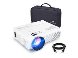 VANKYO LEISURE 3 Mini Projector, 1080P and 170'' Display Supported, 2400 Lux Portable Movie Projector with 40,000 Hrs LED Lamp Life