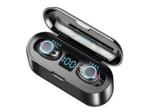TWS Breathing Light Smart Touch 8D Stereo Wireless Bluetooth Earphone 5.0 LED Display With Dual Microphone Charging Case
