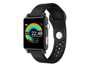 Smart Watch ECG PPG Heart Rate Monitor Blood Pressure Sports Pedometer Sleep Monitor Call SMS Reminder Smartwatch