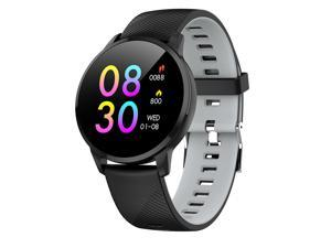 Sport Smart Watch Men IP67 Waterproof Slim Metal Body Fitness Tracker Heart Rate Monitor Clock Smartwatch