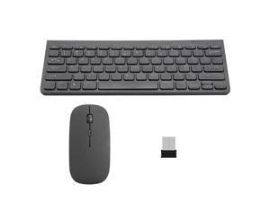 dc984ad912f Wireless Keyboard and Mouse 2.4GHz Multimedia Mini Keyboard Mouse Combos USB  Receiver for Notebook Laptop