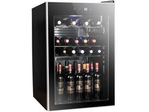 Tavata Wine Cooler 24 Bottle Freestanding Single Zone Fridge And Cellar Chiller For Red
