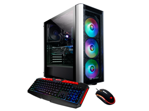 iBUYPOWER Gaming Desktop Level20 122A, Ryzen 9 3900X, Radeon RX5700XT 8GB, 16GB DDR4, 480GB SSD, 1TB HDD, WiFi & Win 10 Home