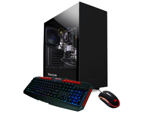 iBUYPOWER Gaming Desltp[ AMD Ryzen 3 3200G 8GB DDR4 RAM, 240GB SSD, AMD Vega 8 Graphics  Window 10 Home