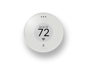Flair Puck, WiFi Wireless Thermostat (Pearl White), Compatible with Alexa, ecobee, Honeywell smart thermostats, Google Assistant